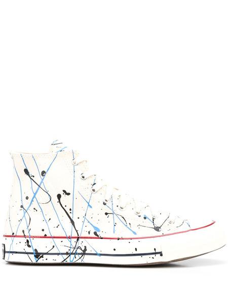 Кеды Chuck 70 Archive High Top с эффектом разбрызганной краски Converse, фото
