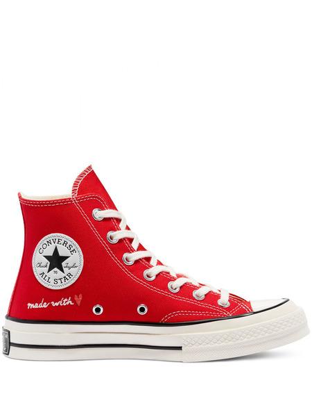 Высокие кеды Valentine's Day Chuck 70 Hi Red Converse, фото