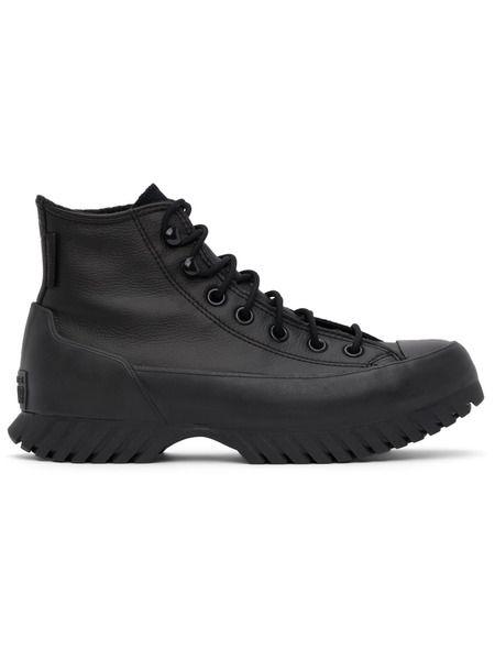 Черные высокие кроссовки Chuck Taylor All Star Lugged Converse фото