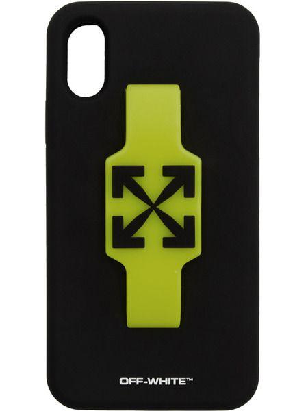 Чехол для iPhone XR с черными стрелками