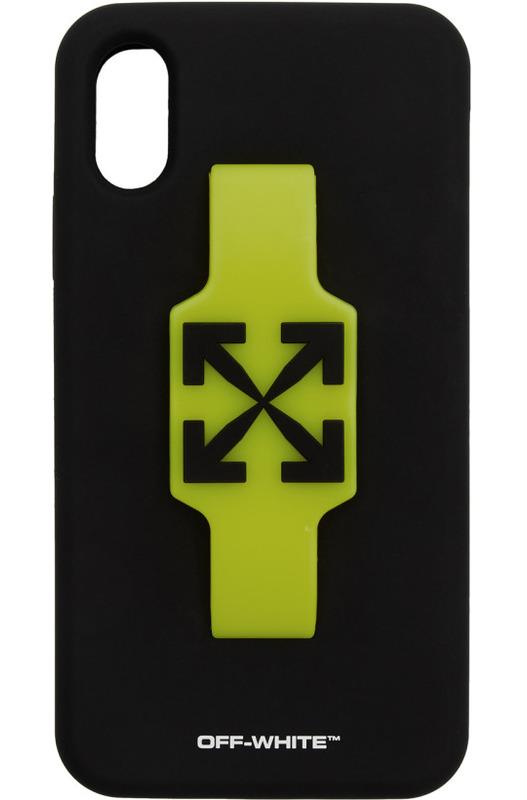 Чехол для iPhone XR с черными стрелками Off-White, фото
