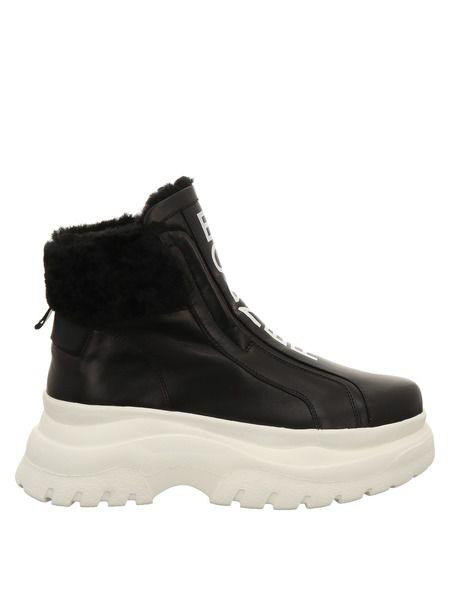 Кожаные ботинки на высокой подошве Bogner фото
