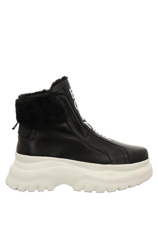 Кожаные ботинки на высокой подошве Bogner, фото