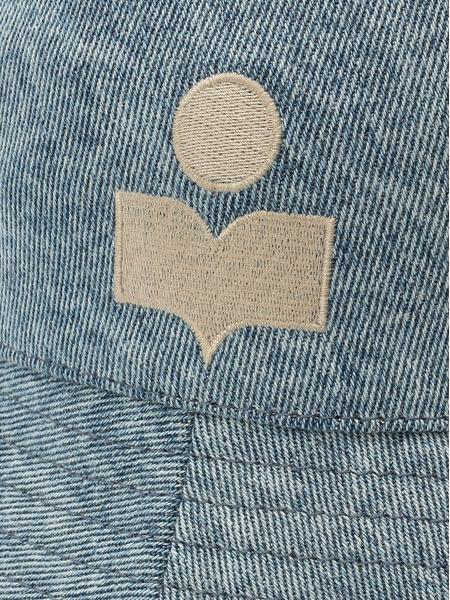 Джинсовая панама голубого цвета Isabel Marant, фото