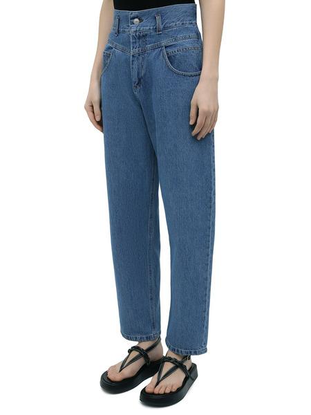 Синие джинсы свободного кроя Forte Dei Marmi Couture, фото
