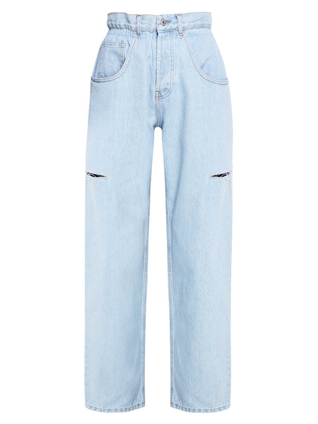 Синие джинсы с разрезами Forte Dei Marmi Couture, фото
