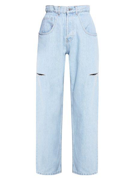 Синие джинсы с разрезами Forte Dei Marmi Couture фото