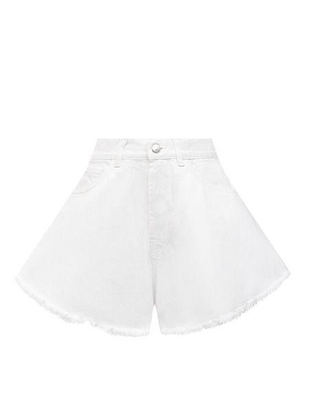 Белые джинсовые шорты Forte Dei Marmi Couture фото