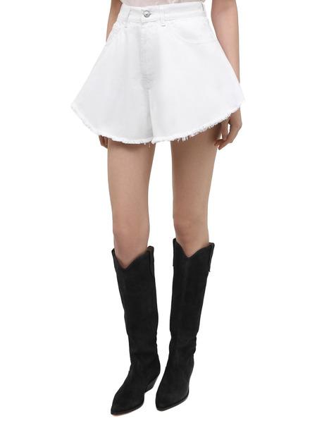Белые джинсовые шорты Forte Dei Marmi Couture, фото