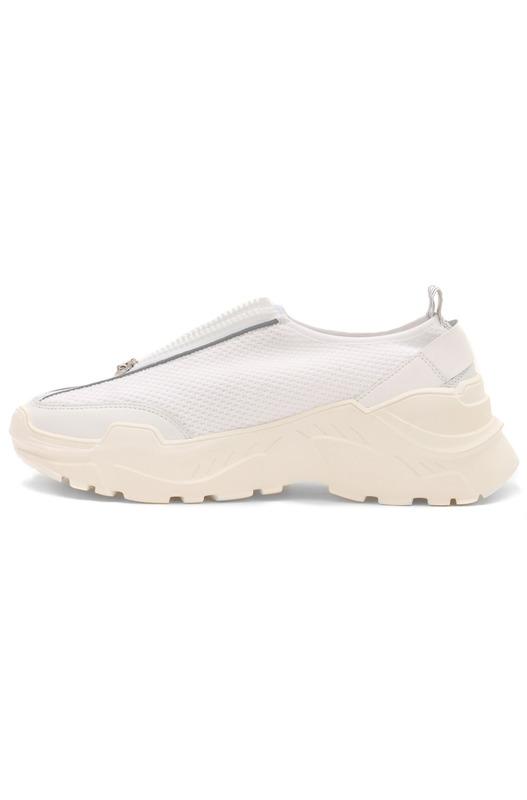 Комбинированные кроссовки на молнии Bogner, фото