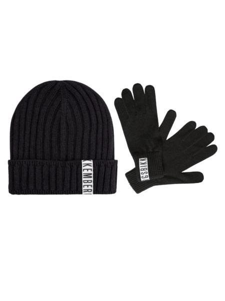Комплект шапка и перчатки Bikkembergs фото