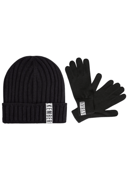 Комплект шапка и перчатки Bikkembergs, фото