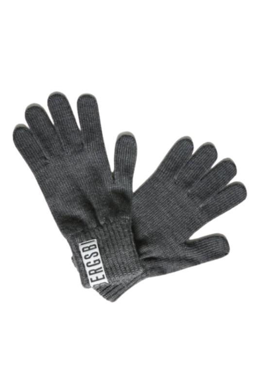Серые перчатки Bikkembergs, фото