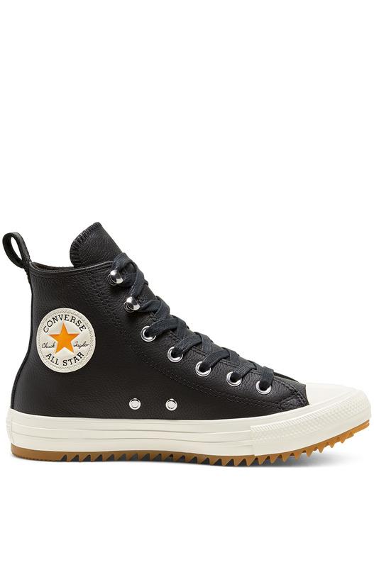 Кожаные высокие кеды Chuck Taylor All Star Hiker Converse, фото