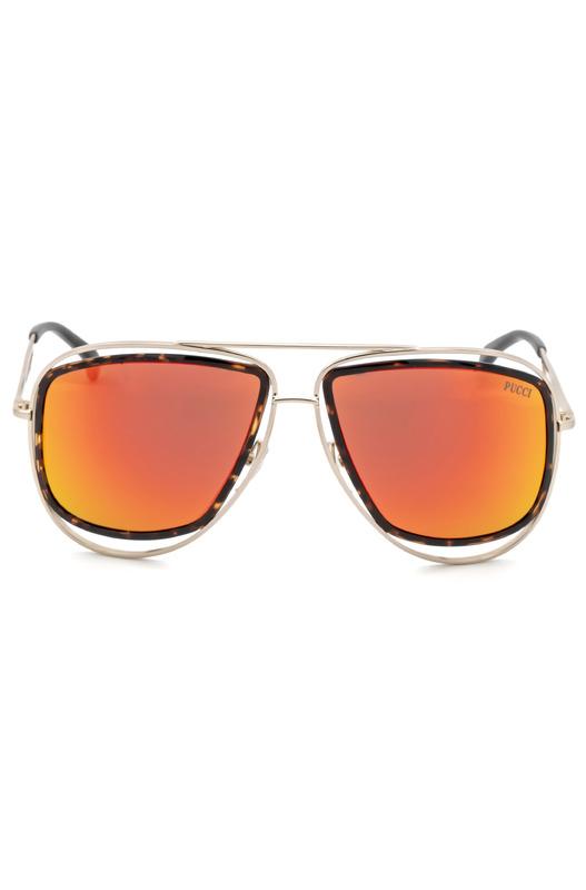 Солнцезащитные очки-авиаторы EP0003 44U Emilio Pucci, фото
