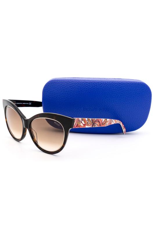 Солнцезащитные очки-бабочки EP0024 56F Emilio Pucci