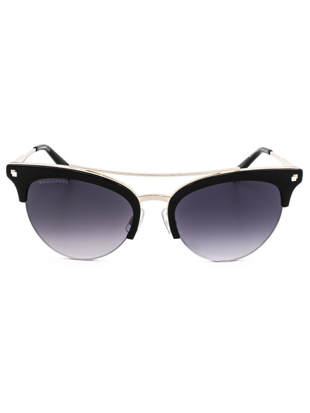 Солнцезащитные очки-вайфаеры DQ0252 01B Dsquared2, фото