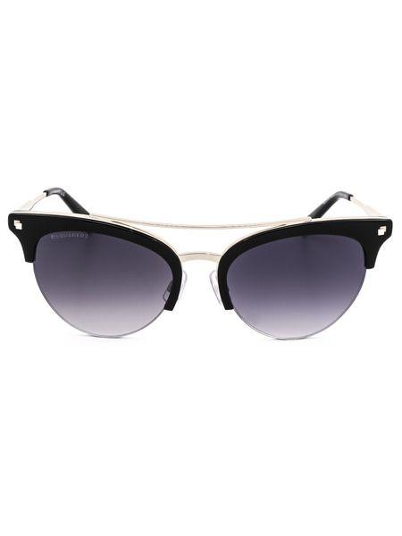 Солнцезащитные очки-вайфаеры DQ0252 01B Dsquared2 фото