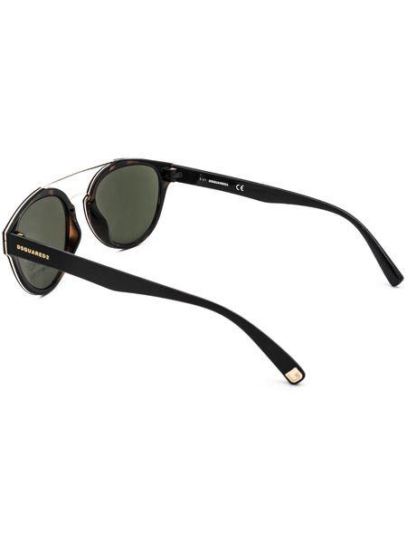 Солнцезащитные очки в круглой оправе DQ0255 52N