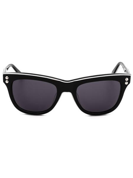 Солнцезащитные очки с белой окантовкой MO72201SA 01SA Moschino, фото