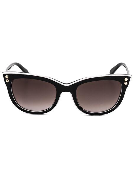 Солнцезащитные очки кошачий глаз MO72301SA 01SA Moschino фото