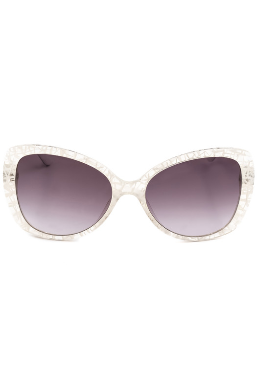 Солнцезащитные очки-бабочки в белой оправе MO73103SA 03SA