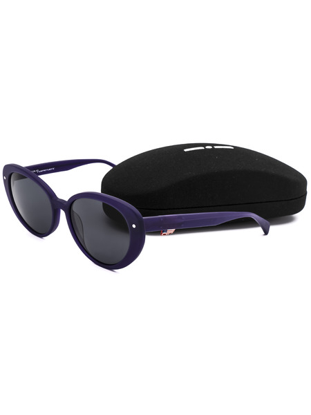 Овальные солнцезащитные очки Italia Independent, фото