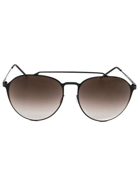 Солнцезащитные очки в тонкой оправе Italia Independent фото