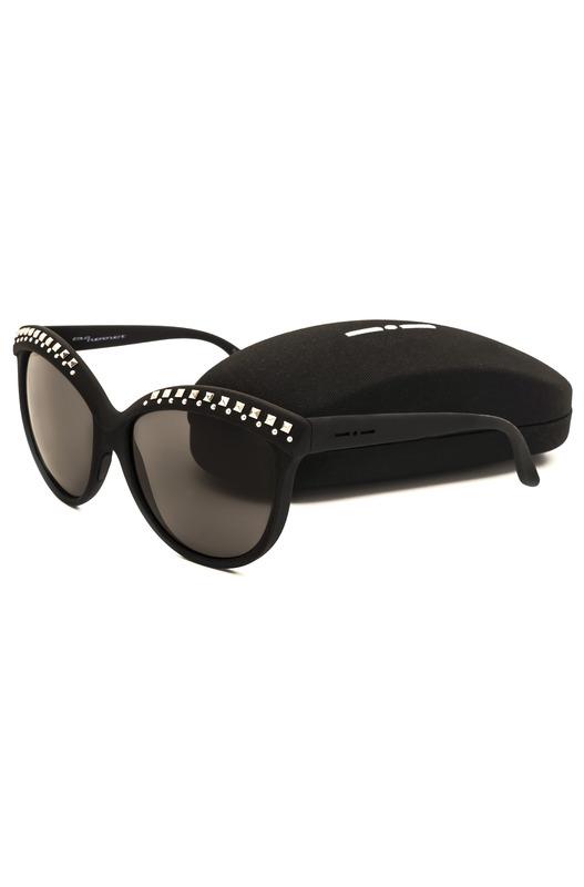 Солнцезащитные очки-бабочки с декором на оправе Italia Independent, фото