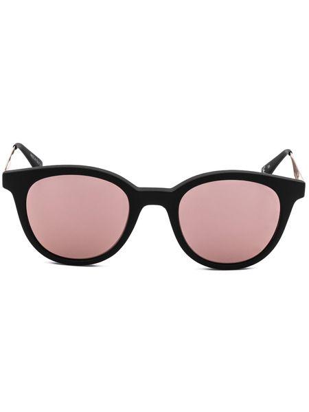 Солнцезащитные очки в черной матовой оправе Italia Independent фото