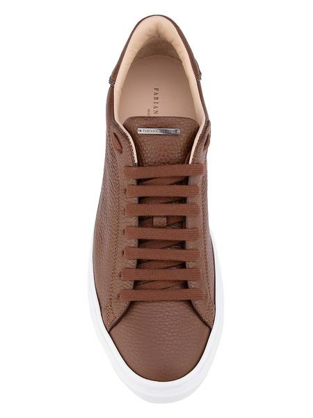 Кожаные кеды на шнуровке Fabiana Filippi, фото