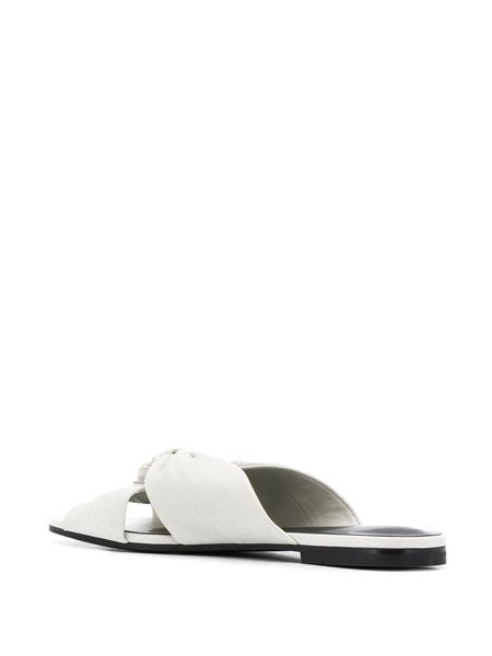Белые босоножки с бусинами Fabiana Filippi, фото