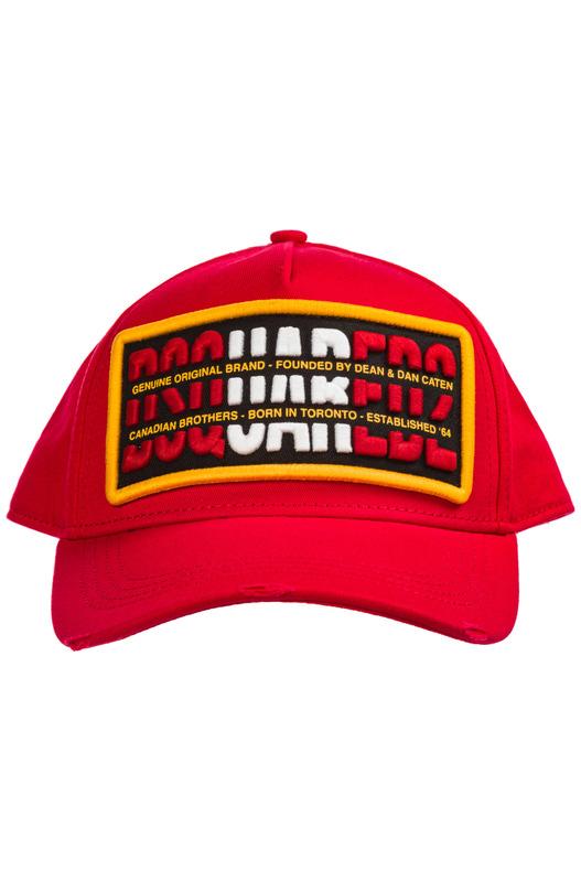 Красная бейсбольная кепка Dsquared2, фото