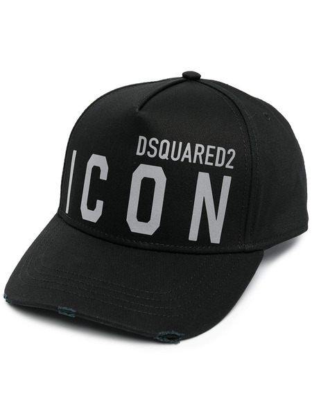 Черная бейсболка Icon Dsquared2, фото