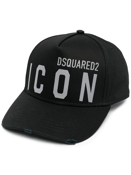 Черная бейсболка Icon Dsquared2 фото