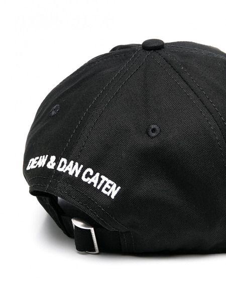 Черная бейсболка Icon с логотипом