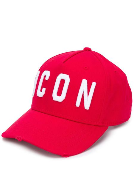 Красная бейсбольная кепка Icon Dsquared2 фото