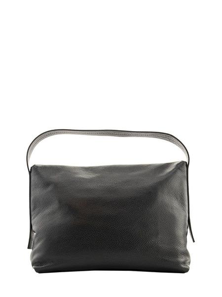 Черная кожаная сумка Carlotta Fabiana Filippi, фото