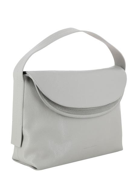 Серая кожаная сумка Carlotta Fabiana Filippi, фото
