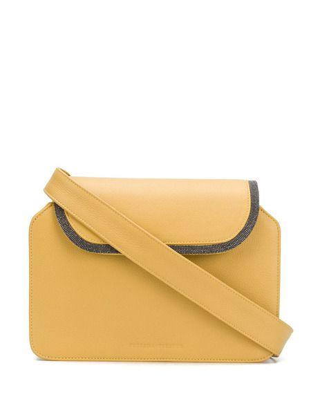 Сумка колор-блок со съемной сумочкой