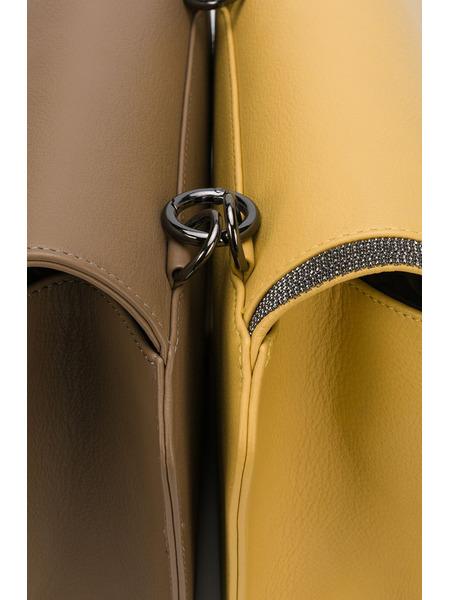 Сумка колор-блок со съемной сумочкой Fabiana Filippi, фото