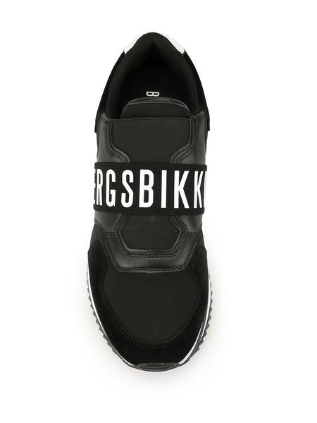 Черно-белые кроссовки с лого Bikkembergs, фото