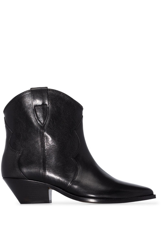 Короткие ковбойские ботинки Dewina Isabel Marant