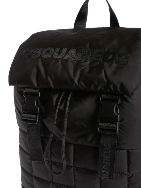 Стеганый рюкзак с логотипом