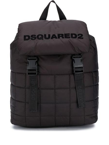 Стеганый рюкзак с логотипом Dsquared2, фото