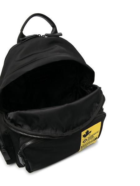 Черный рюкзак Dominate Your Sport Dsquared2, фото