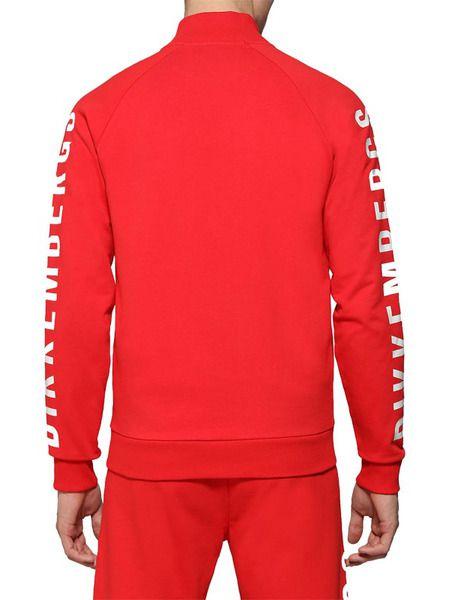 Красный спортивный костюм с логотипом