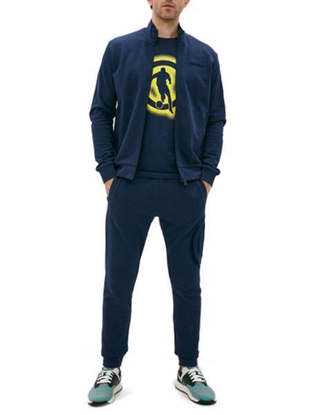 Синий спортивный костюм Bikkembergs фото
