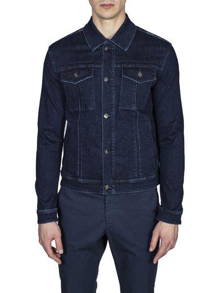 Мужская джинсовая куртка Bikkembergs фото