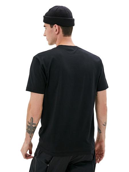 Черная футболка с принтом логотипа Marcelo Burlon, фото